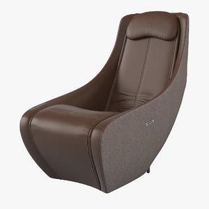 bork d623 massage chair 3D model