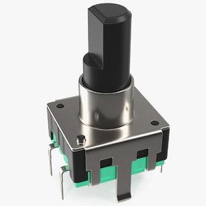 3D mini push button switch
