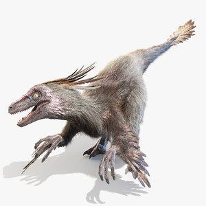 velociraptor v 3D
