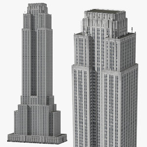 old skyscraper 3D model