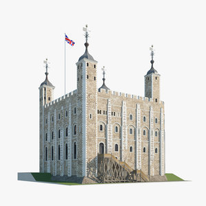 3D london tower model