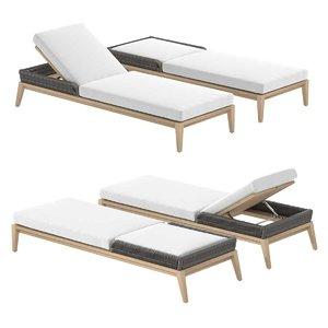 chaise albion 3D model