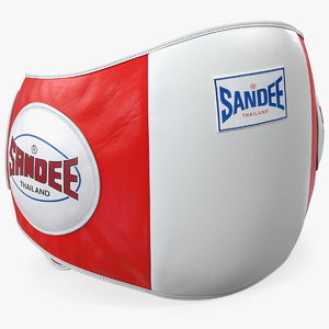 sandee velcro belly pad 3D
