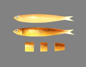 3D food seafood