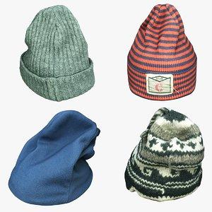 knit cap 3D model