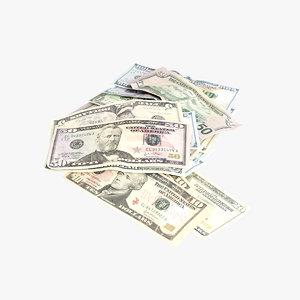dollars p 3D model
