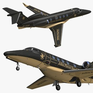 embraer phenom 300 jps 3D model