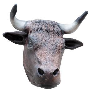 3D decorative bull head wall