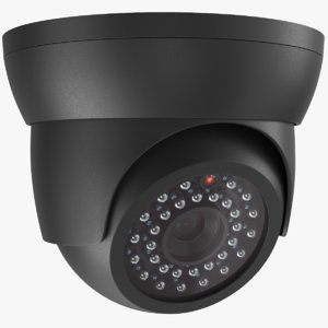3D real security camera