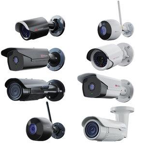 3D cctv security camera model