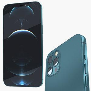 3D iphone 12 phone model