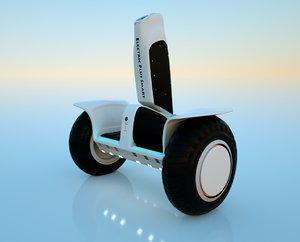 skateboard electric sk 3D model
