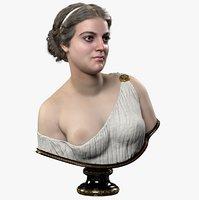 Greek Woman Bust