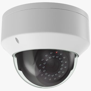 real security camera 3D model