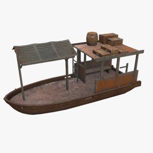 3D ship watercraft vessel