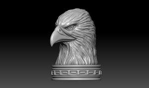 eagle head printing 3D model