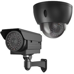 real security cameras 3D model