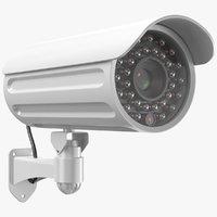 Security Camera White