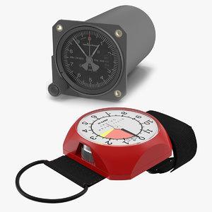 altimeters aviation analog model