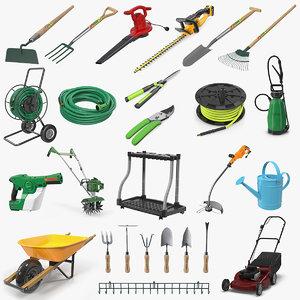 3D garden tools 10 model