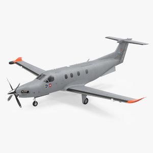 pilatus pc 12m eagle 3D model