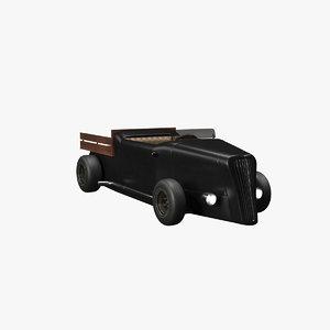 hot rod v2 3D model