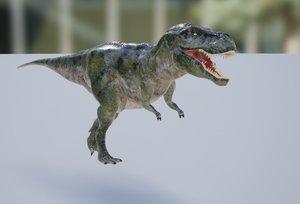 tyranossaurus rex 3D
