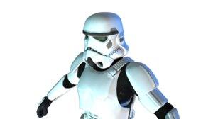 star wars dae 3D model