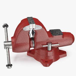 3D multipurpose pipe bench vise model