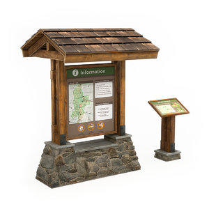 information boards model