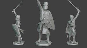 knight templar victory t1 model