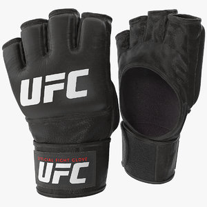 ufc official leather fight model