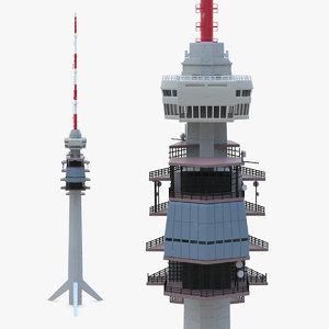 telecommunication tower communication model