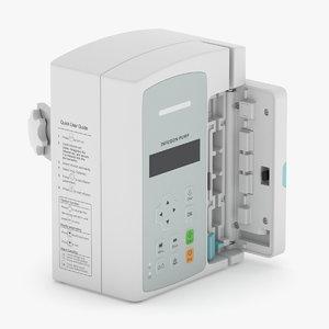 3D infusion pump model