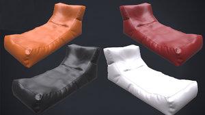 armchair lounger 2k pbr 3D model