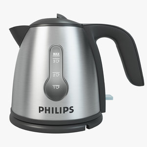 3D philips mini kettle model