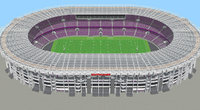 Fictional old stadium 2 - national Rugby arena
