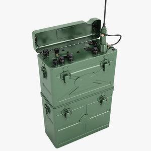3D military radio scr-300