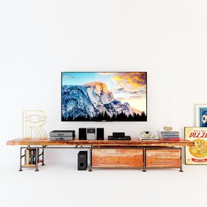 tv s cabinet 3D model