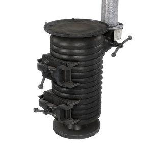 ww2 german bunker stove model