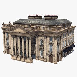 building 4k pbr shop 3D model