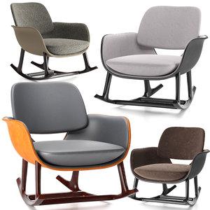 3D armchair martha