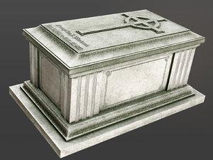 chest tomb 2 3D model