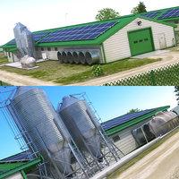 Chicken Farm Barn 1
