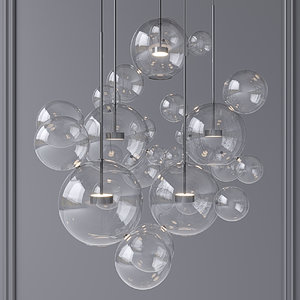 3D chandelier giopato coombes bolle