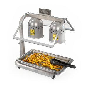 commercial kitchen warming station model