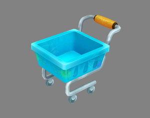 cart shopping 3D model
