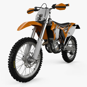 3D ktm 450 2014 model