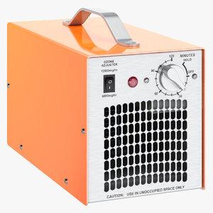 commercial ozone generator 3D model