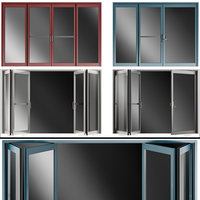 Folding Metal Automatic Door